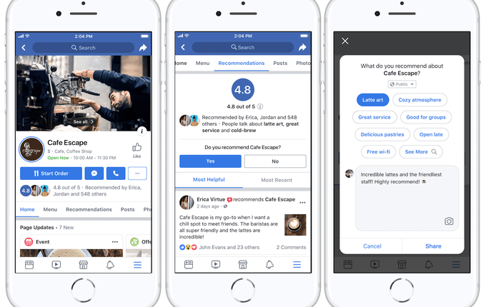 Facebook redesigns biz Pages for utility as feed reach declines | Social
