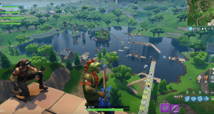 Fortnite Streamers Make A Ninja Warrior Course | Gaming News