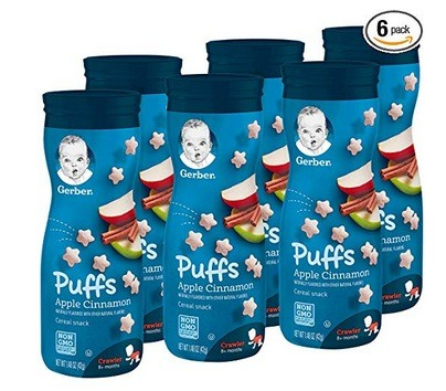 Gerber Graduates Puffs Cereal Snacks (6 count) only $7.64 shipped! – Info Money Manage