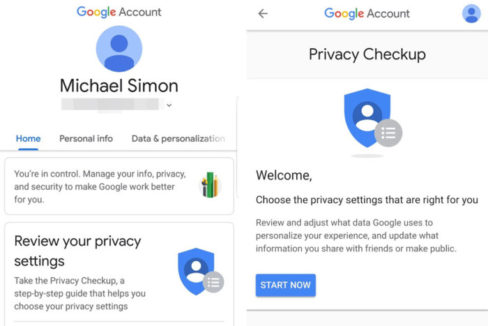 google privacy checkup1