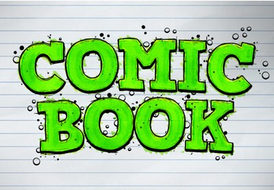 How to Create a Comic-Book Ink Text Effect in Adobe Photoshop   How To