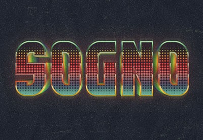 How to Create a Retro, Colorful, Halftone Text Effect in Adobe Photoshop | How To