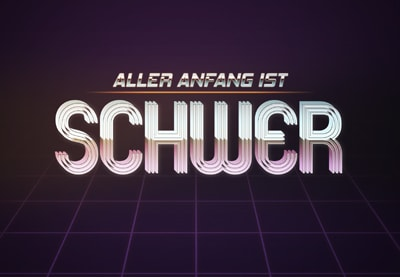 How to Create an 80s-Inspired Text Effect in Adobe Photoshop | Tutorial