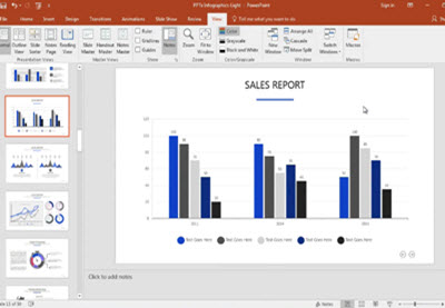 How to Quickly Edit Creative Chart Template Designs in PowerPoint | How To