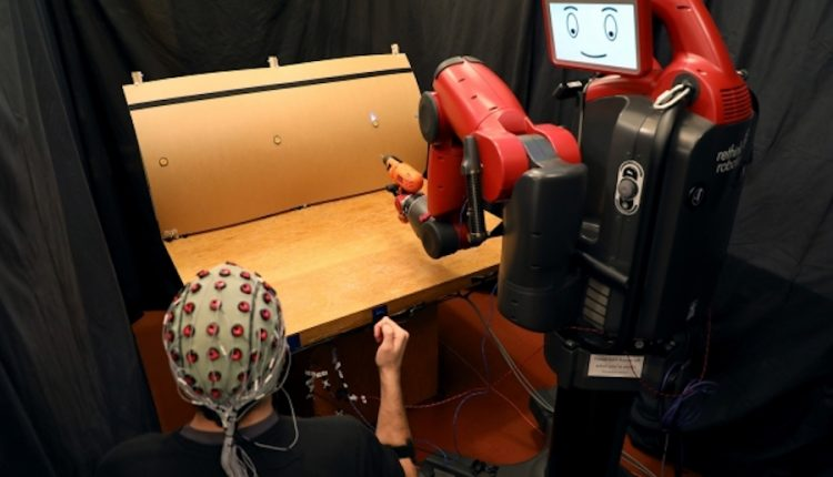 How to control robots with brainwaves and hand gestures | Robotics