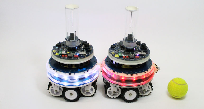 In these bot hookups, the machines meld their minds | Robotics