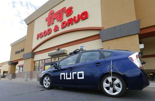 Kroger rolls out driverless cars for grocery deliveries (Update) | Innovation