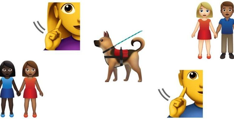 New 2019 Emoji Candidates Include Service Dog, Deaf Person and More Couples | Mac
