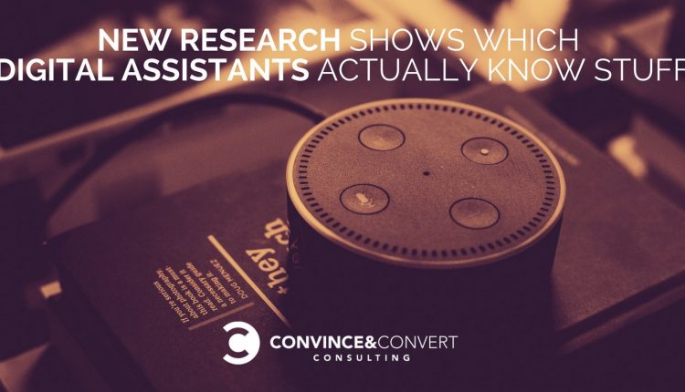 New Research Shows Which Digital Assistants Actually Know Stuff | Marketing