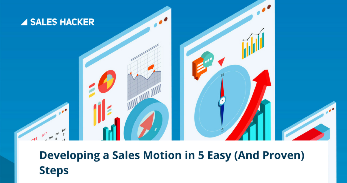 Developing a sales motion