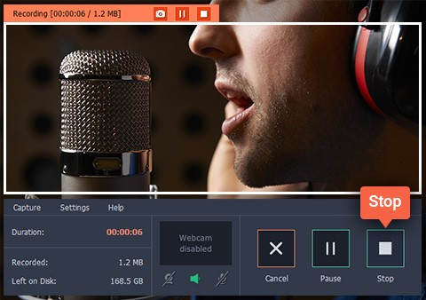 Save Podcasts From Any Website on a PC Using Movavi Screen Capture