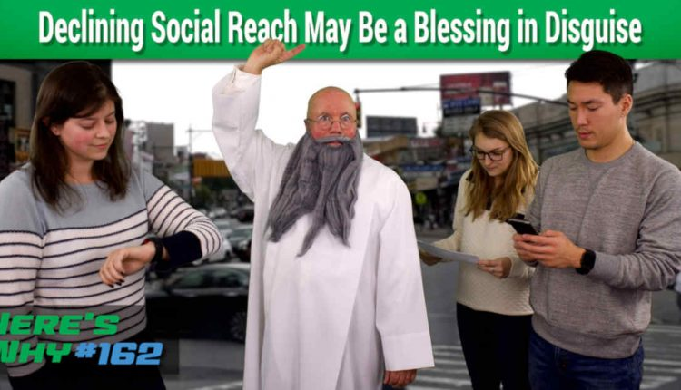 Sinking Social Media Reach May Be a Blessing in Disguise | SEO