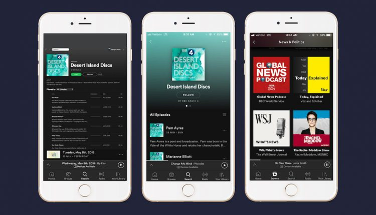 Spotify Continues Strong Push Into Podcasts With Addition of BBC   Mac