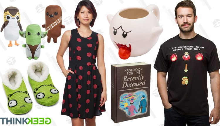 ThinkGeek Turned 19, So They're Taking Up to 80% Off Over 350 Things – Info Computing
