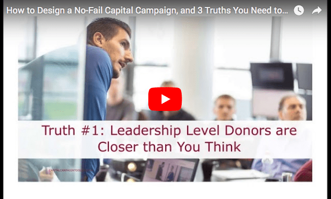 How to Design a No-Fail Capital Campaign