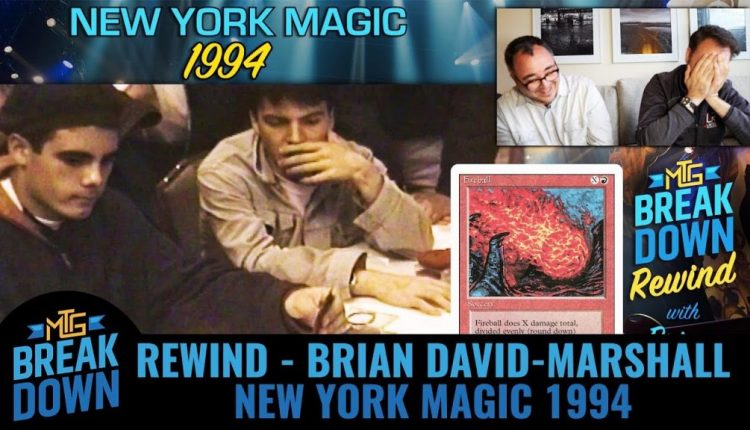 Video Of An Early Magic Tournament Is An Awesome Piece Of Game History | Gaming News