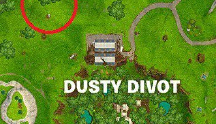 Fortnite: Where to Find the Dusty Divot Treasure Map