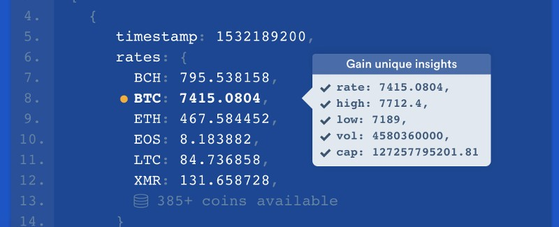 Coinlayer API: A Quick Way to Display Live Cryptocurrency Prices in Your Project, ONLY infoTech
