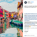 Example of UGC from Buffer