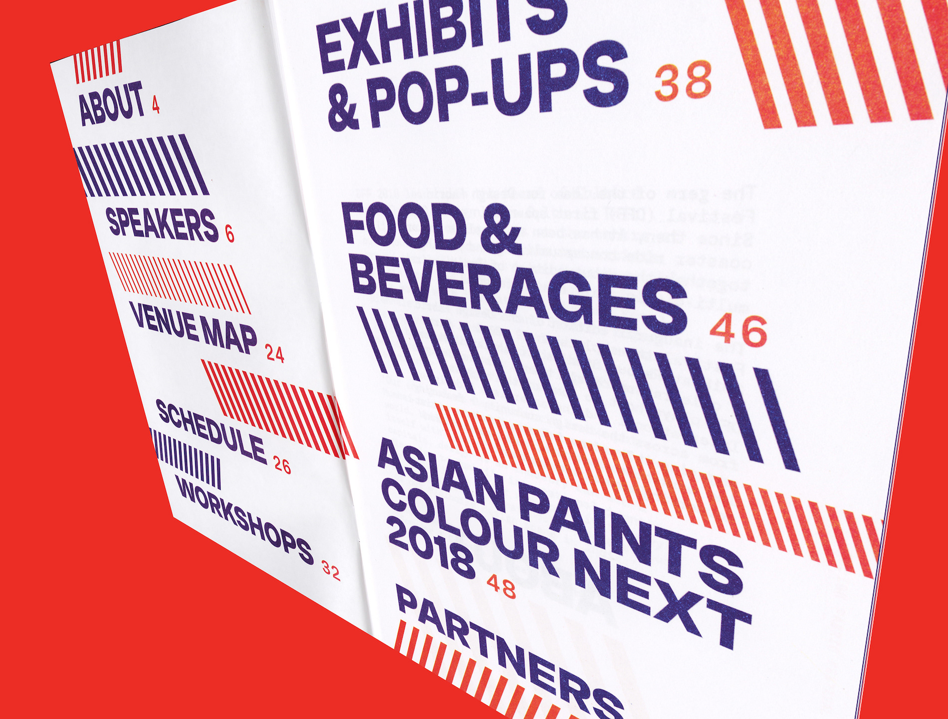 Stylish Editorial Design for Design Fabric Fest