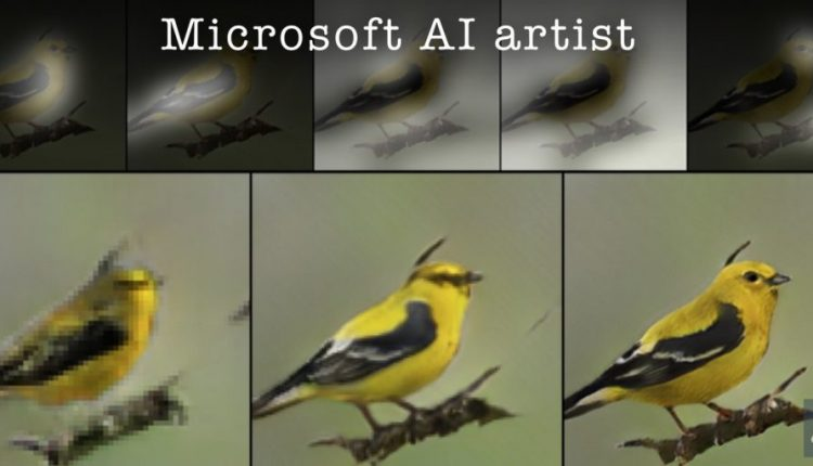 Microsoft Researchers Build a Bot that Draws | Artificial intelligence