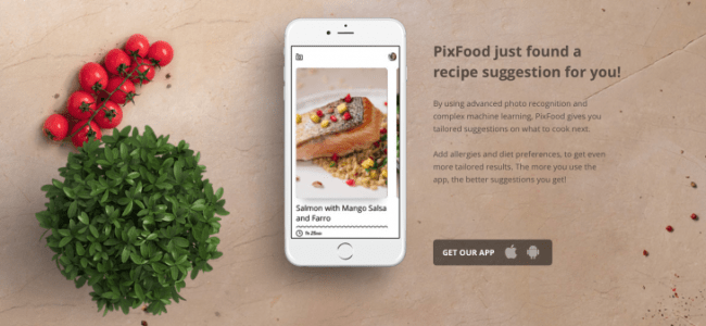 Not hog dog? PixFood lets you shoot and identify food | Artificial intelligence