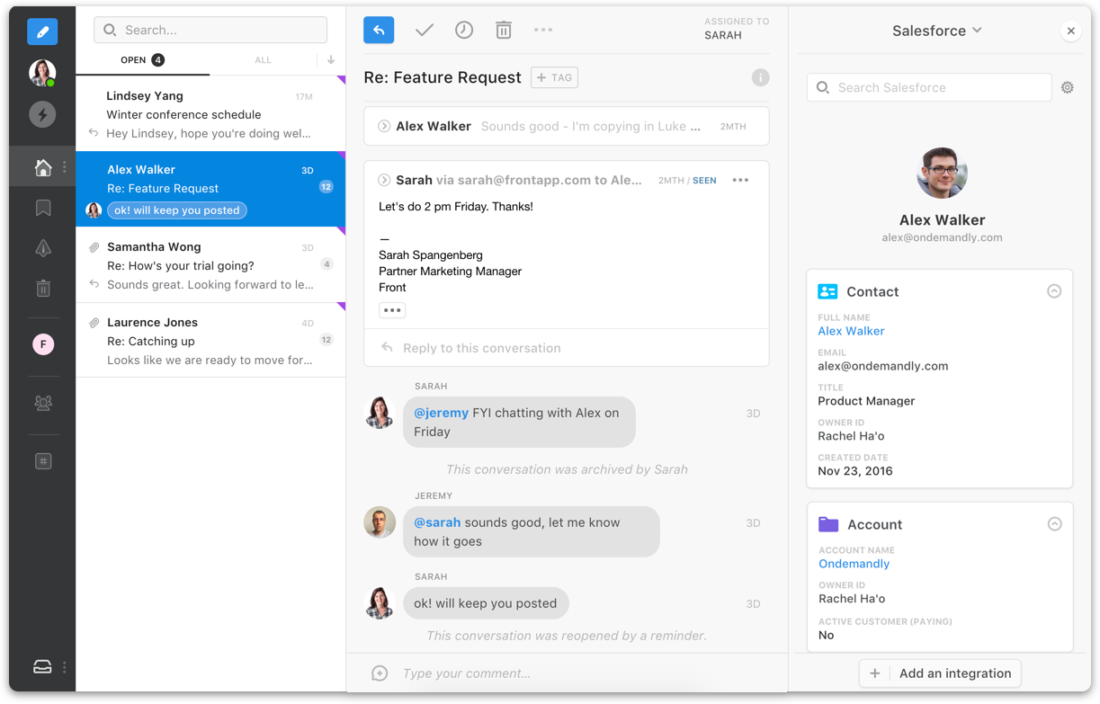 Why you need to integrate Salesforce with your email