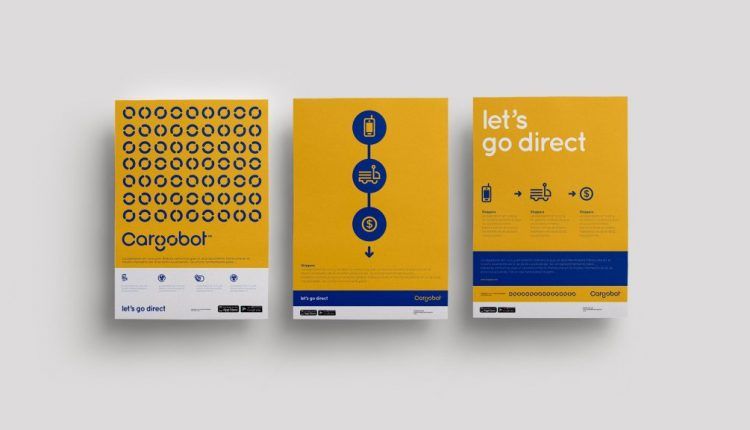 Brand Identity for Cargobot Inspired by Classical Modernism | Web Designing