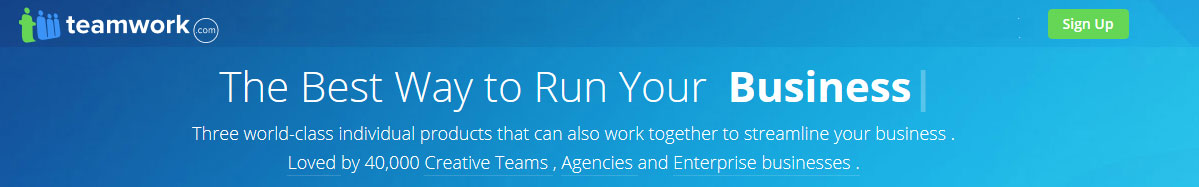 Teamwork Projects - project management software