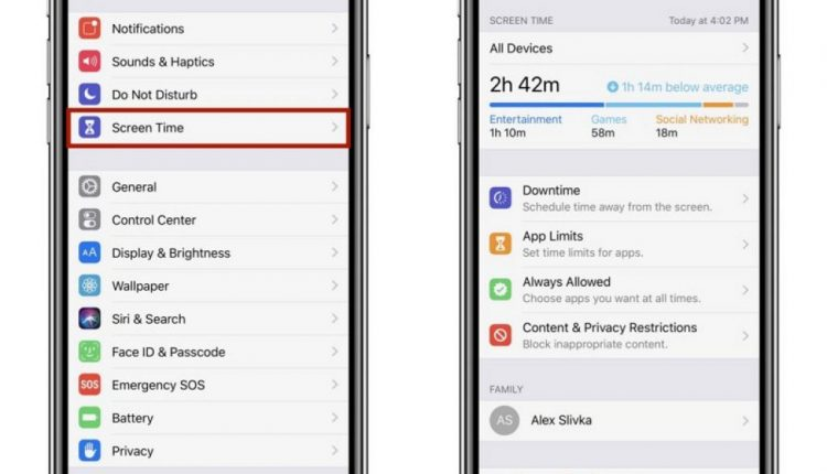 How to Use Screen Time in iOS 12   Mac