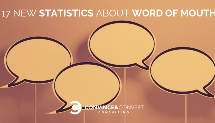17 New Statistics About Word of Mouth | Marketing