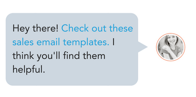 sales email templates tool