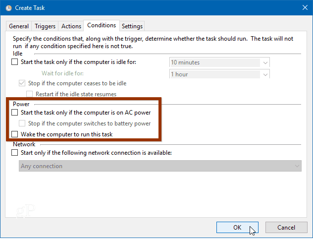 Configure Windows 10 to Automatically Create a System