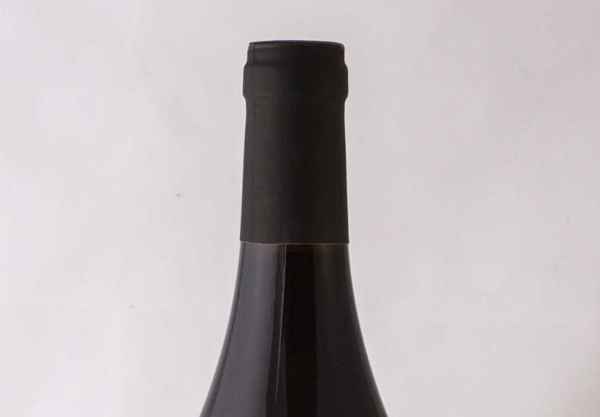 Red wine neck label
