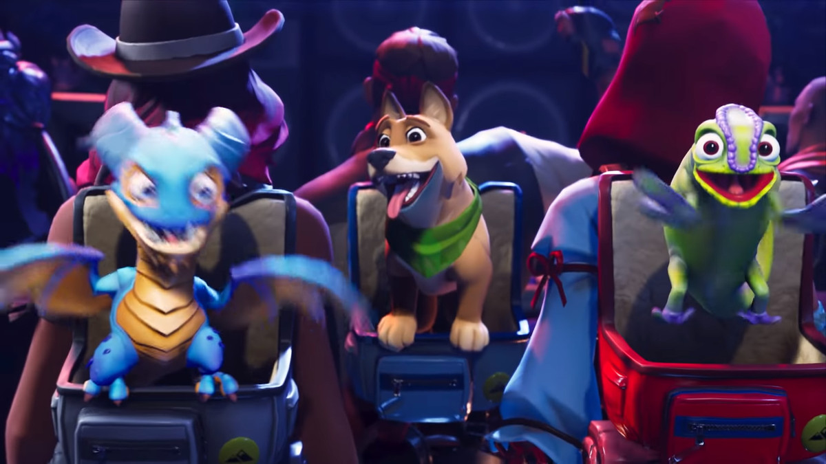 Some of the pets in the Season 6 Battle Pass