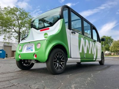 Autonomous shuttle startup May Mobility expands to a third U.S. city | Industry