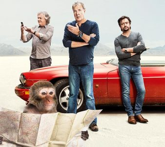 Promo shot for TV show The Grand Tour