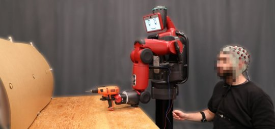 Controlling robots with brainwaves and hand gestures | Robotics