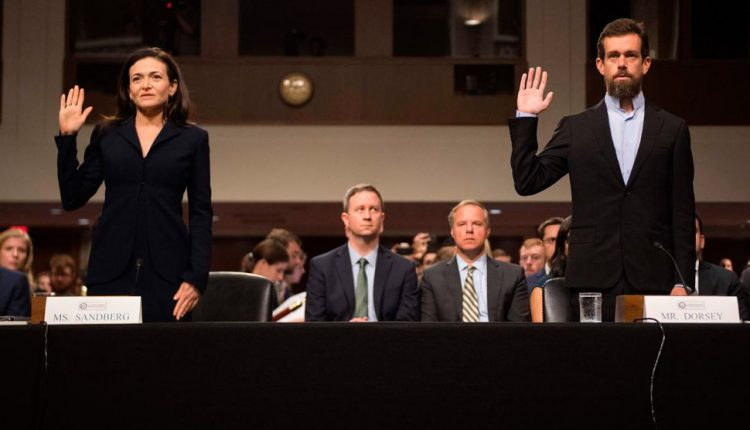Facebook and Twitter in DC: What the congressional hearings looked like up close | Social