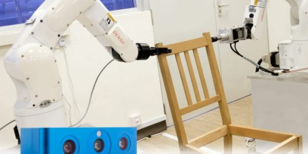 Furniture Assembly Gets All Set With 3D Vision, Robot Arms | Robotics