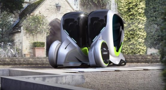 Futuristic City Vehicle Is Actually Two Independent Pods That Can Merge Or Decouple | Feature