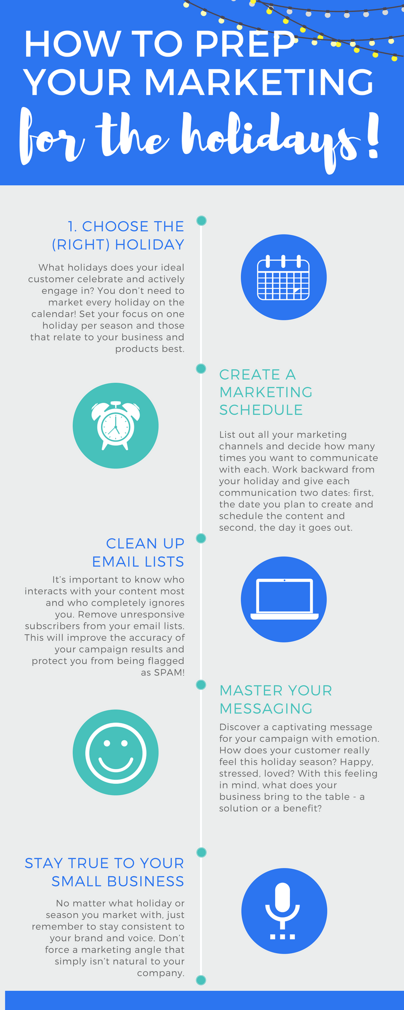 Holiday Marketing Checklist