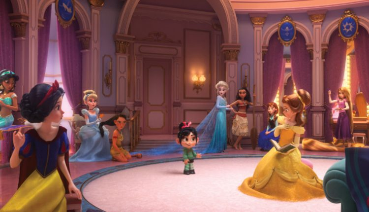 How The Disney Princess Scene In Ralph Breaks The Internet Came To Be | Gaming News