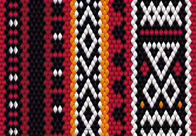 How to Weave a Bedouin Sadu Fabric Pattern Using Adobe Illustrator | How To