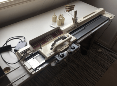 Networked knitting machine, powered by a Raspberry Pi | Robotics