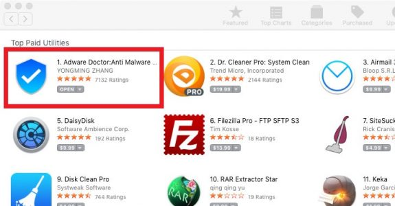 No 1 Adware Removal Tool On Apple App Store Caught Spying On Mac