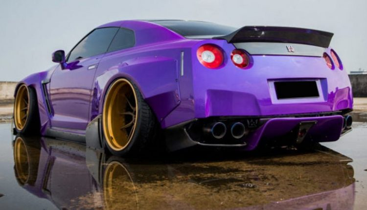 Plum Crazy Nissan GT-R Sacrifices Driveability For Fast & Furious Looks | Feature
