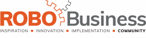 RoboBusiness 2018 logo with tag