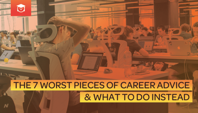 The 7 Worst Pieces of Career Advice & What to Do Instead | Linux