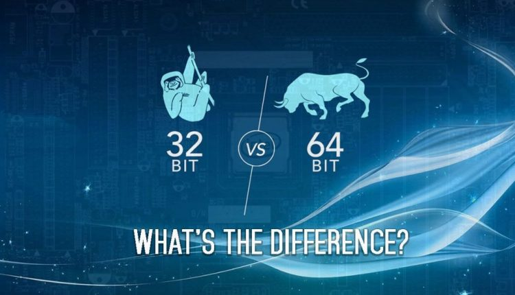 What is the Difference between 32-Bit and 64-Bit Processors? | Tips & Tricks
